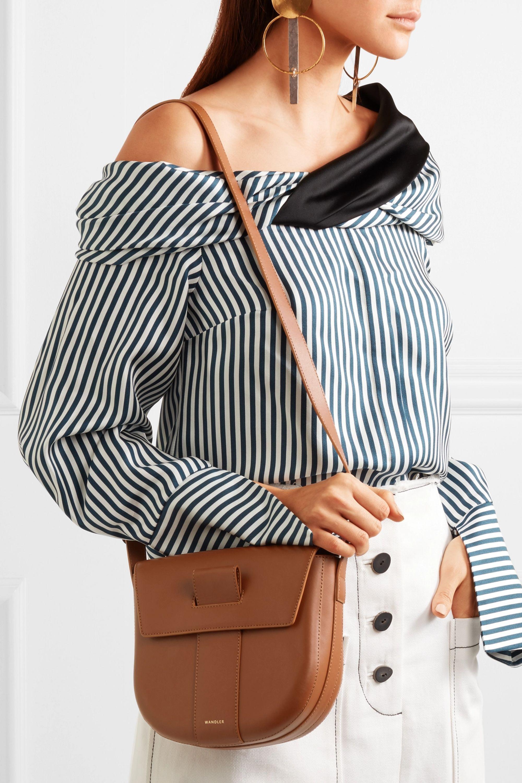 Wandler Miles leather shoulder bag