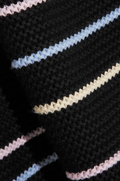 Victor Glemaud Kapuzenpullover in Oversized-Passform aus einer Baumwoll-Kaschmirmischung
