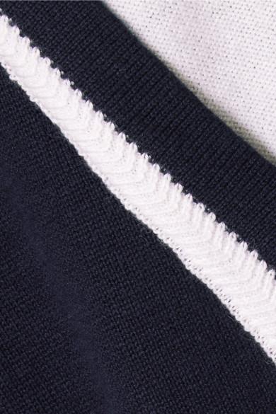 Steckdose Erkunden Victor Glemaud Doppellagiger Rollkragenpullover aus einer Baumwoll-Kaschmirmischung Billige Finish Erstaunlicher Preis Verkauf Online Vermarktbare Verkauf Online Billig Holen Eine Beste t1Bgb