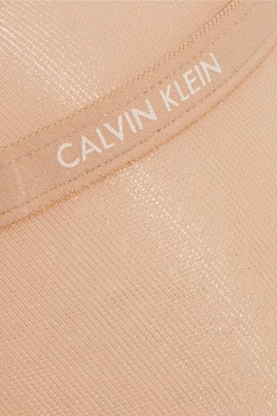 c0b1c23a41 Calvin Klein Underwear. Sheer Marquisette stretch-mesh underwired bra.  42.  DD plus. Zoom In