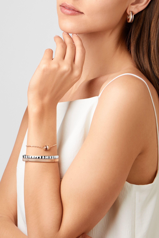 Boucheron Quatre Clou De Paris 18-karat white gold bracelet