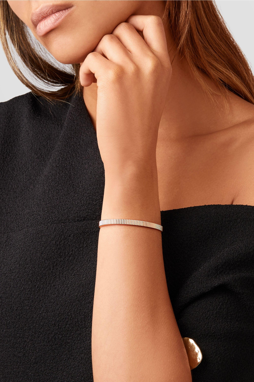 Boucheron Quatre Grosgrain 18-karat rose gold bracelet