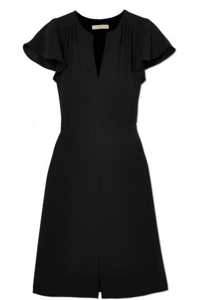 Vanessa Bruno Island Kleid aus Crêpe mit Raffungen