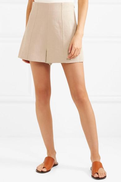 Vanessa Bruno Huchet Shorts aus Leinen