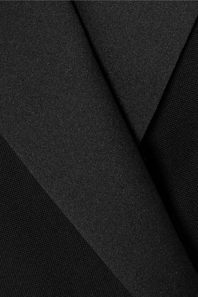 Racil Hatanaka doppelreihiger Blazer aus Woll-Piqué