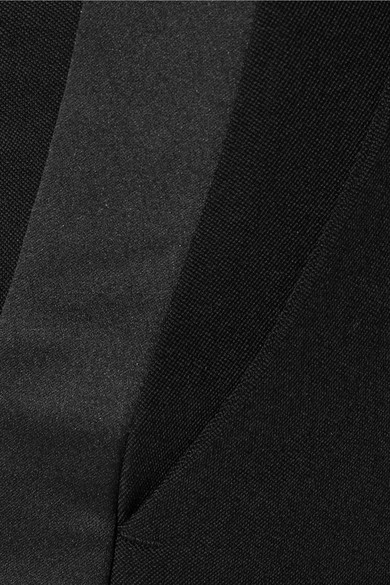 Racil Aries verkürzte Hose mit schmalem Bein aus Woll-Piqué mit Streifen