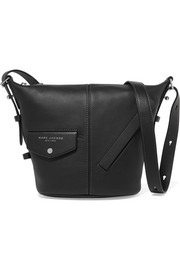 Sling mini leather shoulder bag