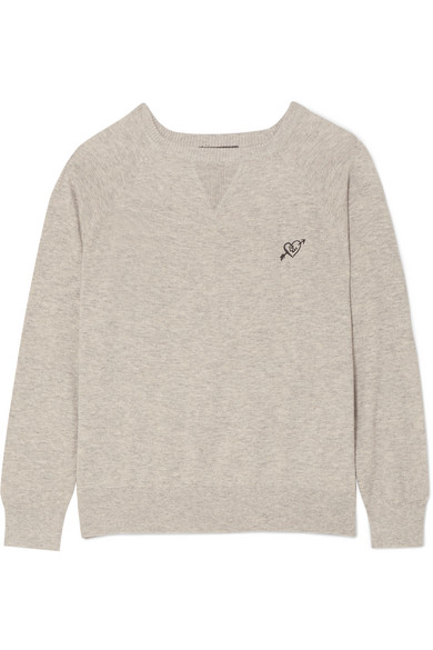 Love Stories JERRY COTTON-BLEND SWEATER