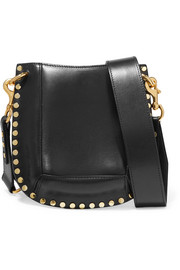 Isabel Marant Nasko studded leather shoulder bag