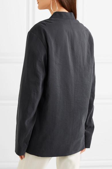 Lemaire Doppelreihiger Blazer aus einer Seidenmischung