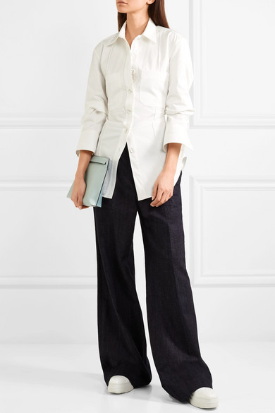 Lemaire Hemd aus Baumwoll-Twill