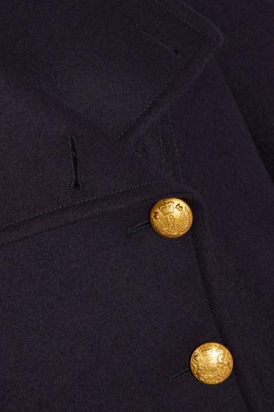 Burberry Mantel aus Wollfilz