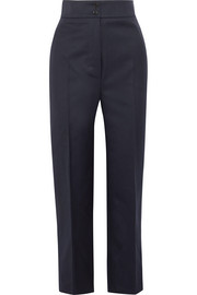 Burberry Wool-twill straight-leg pants