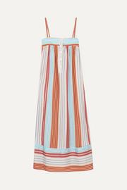 3a840656ab3 Paul   Joe - Striped satin-jacquard dress