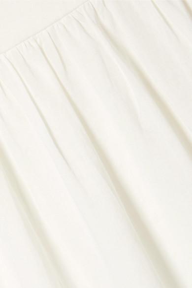 Paul & Joe Besticktes Maxikleid aus Baumwoll-Voile