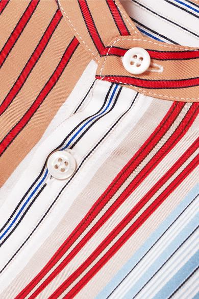 Paul & Joe Gestreiftes Hemd aus Popeline