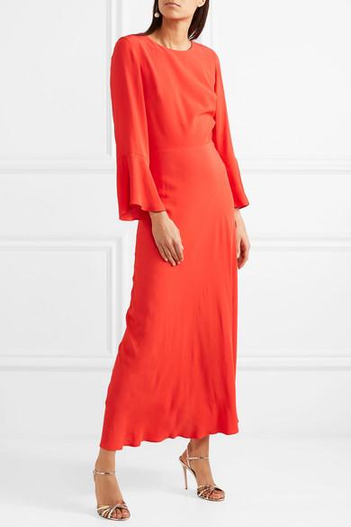 Paul & Joe Firenz Kleid aus Crêpe de Chine mit offener Rückenpartie