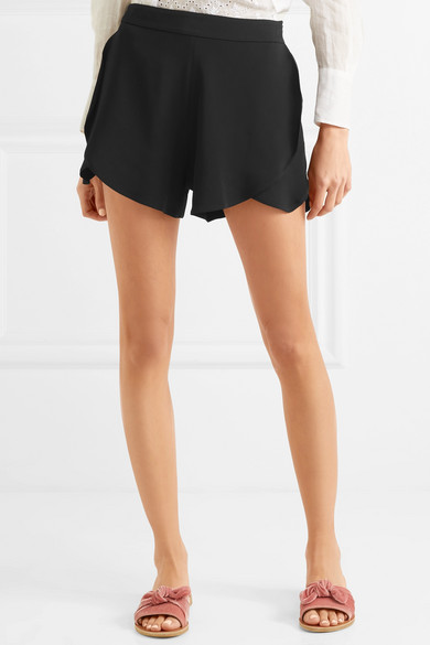 Paul & Joe Mehrlagige Shorts aus Stretch-Cady