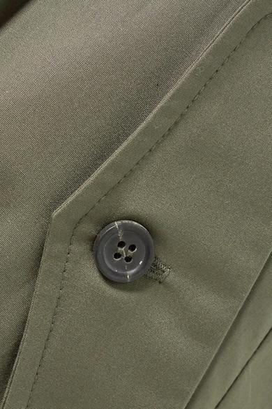 Zenitude Wrap-effect Cotton Shorts - Army green Paul & Joe l1XIK