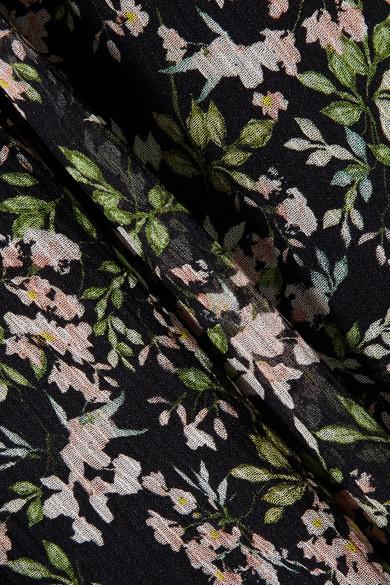 Paul & Joe Imagine Maxirock aus Seidenkrepon mit Blumenprint