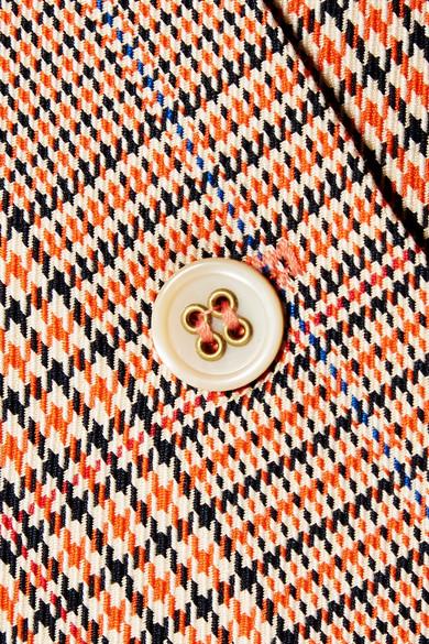 Paul & Joe Allumet Minirock aus Baumwolle mit Hahnentrittmuster