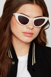 New Wave Lily cat-eye acetate sunglasses