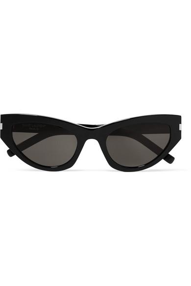 891adb1cbd Saint Laurent. New Wave Grace cat-eye acetate sunglasses