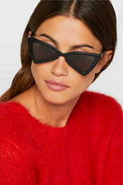 Jerry cat-eye acetate sunglasses