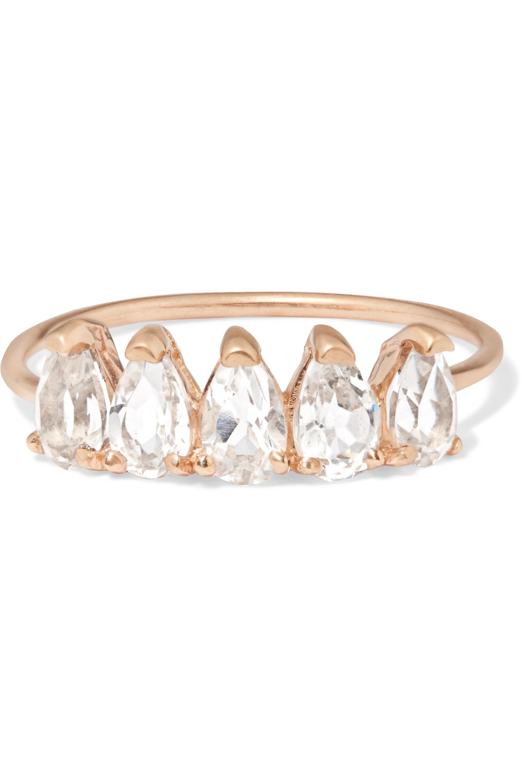 Loren Stewart 10-karat gold topaz ring