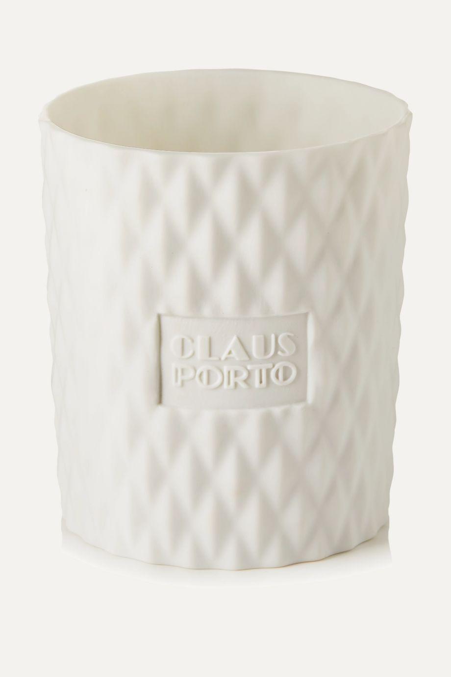 Claus Porto Chypre Cedar Poinsettia scented candle, 270g