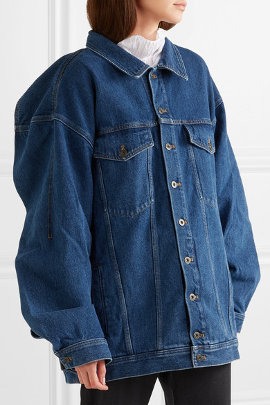Y/PROJECT Oversized-Jeansjacke
