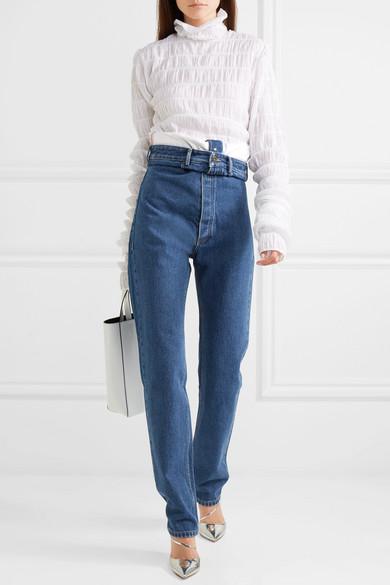 Y/PROJECT Hoch sitzende Jeans mit geradem Bein Hohe Qualität Online Kaufen Bilder Zum Verkauf Offizielle Seite Günstiger Preis 199IXf