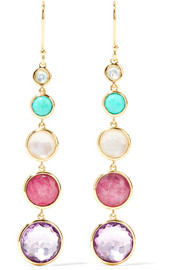 Ippolita Lollipop Lollitini 18-karat gold multi-stone earrings