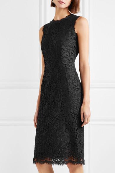 Dolce & Gabbana Kleid aus schnurgebundener Spitze