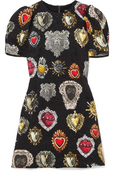 Dolce & Gabbana Minikleid aus Jacquard 2018 Neueste 2018 Neu Zu Verkaufen s30vKv