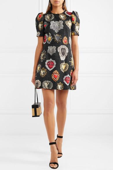 Dolce & Gabbana Minikleid aus Jacquard