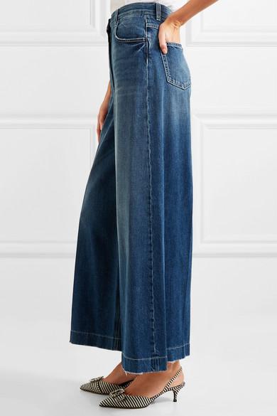 Dolce & Gabbana Hoch sitzende Jeans mit weitem Bein