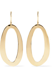 Ippolita Cherish 18-karat gold earrings