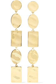 Senso 18-karat gold earrings