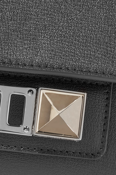 Proenza Schouler PS11 mini Schultertasche aus Leder