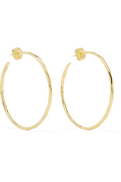 Ippolita - Classico Bastille 18-karat Gold Hoop Earrings
