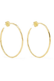 Classico Bastille 18-karat gold hoop earrings