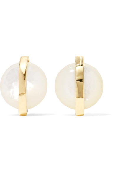 Ippolita - Senso 18-karat Gold Mother-of-pearl Earrings