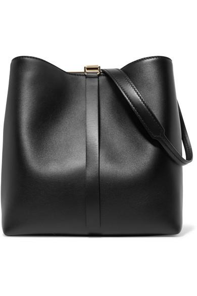 Proenza Schouler - Frame Leather Shoulder Bag - Black