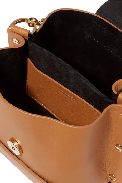 Yuzefi Delila mini Schultertasche aus Leder