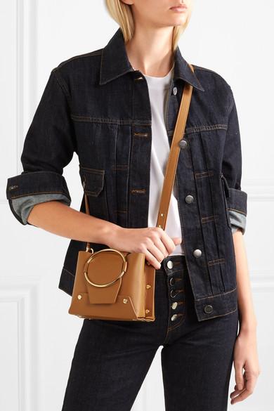 Yuzefi Delila Mini Shoulder Bag Made Of Leather