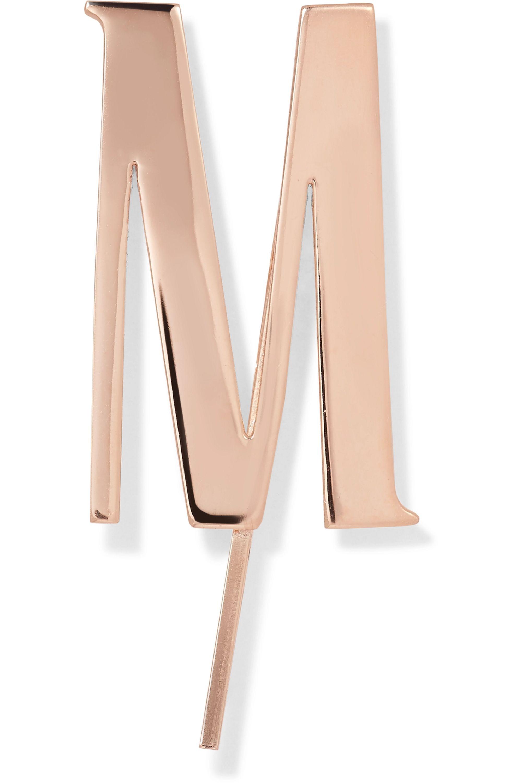 LELET NY Alphabet Haarspange mit Roségoldauflage