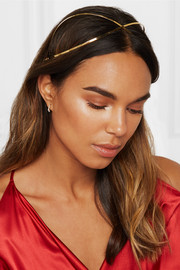 Exes gold-plated headband