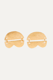Dova gold-tone earrings