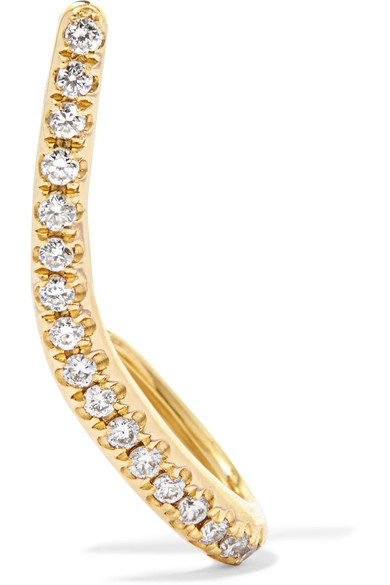 Yvonne Léon - 18-karat Gold Diamond Earring